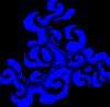 Swirls Blue icon png