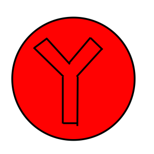 Red Y icon png