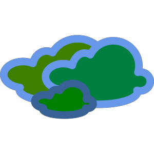 Gas/cloud icon png