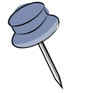 Pin-blue Light icon png
