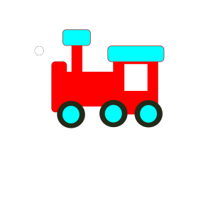 Red And Blue Choochoo icon png