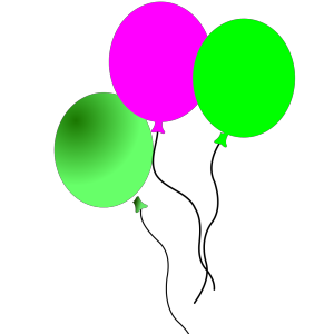 Party Balloons icon png