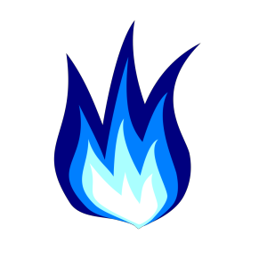 Blue Firework icon png