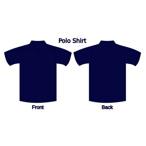 Polo Shirt (dark Blue) icon png