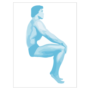 Sitting Body Builder icon png