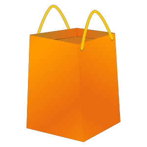 Blue Bb Shopping Bag icon png