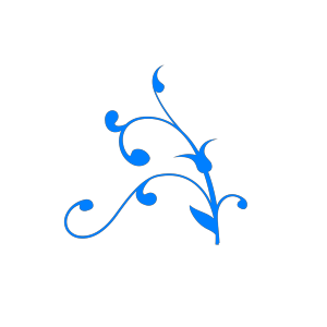 Light Blue Twisted Branch icon png