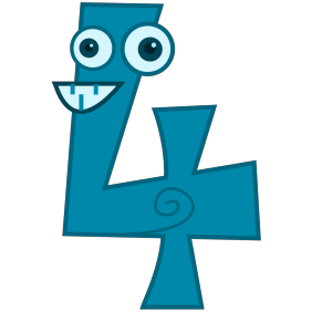 Animal Number Four icon png