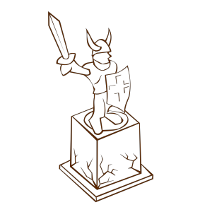 Statue icon png