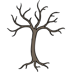 Blue Dead Tree icon png