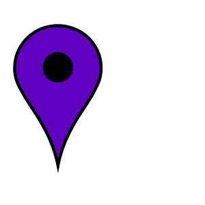 Google Maps Icon - Baby Blue icon png