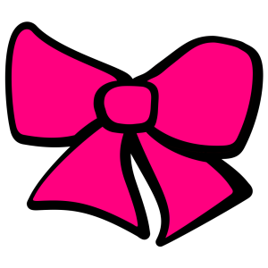 Baby Blue Hair Bow icon png