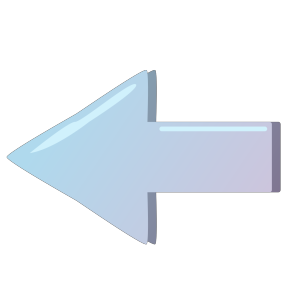 Blue Left Button icon png