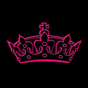 Pink Tilted Tiara icon png