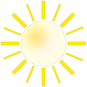 City With Sunshine icon png