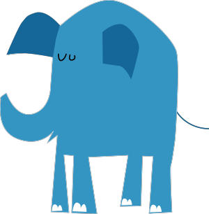 Blue Animal  icon png