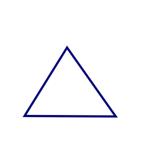 Clean Triangle icon png