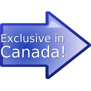 Exclusive In Canada! icon png