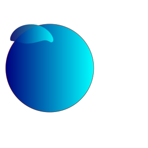 Gacked Blue Button icon png