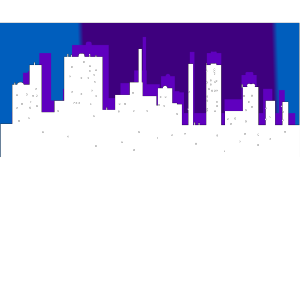 Blue Cityscape icon png