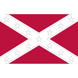 Confederate Navy Jack icon png