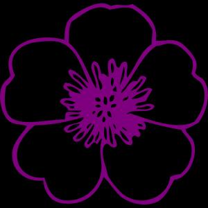 Blue Flower Vase icon png