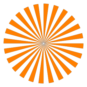Orange Tweet Bird icon png