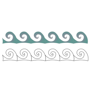 Ship On Waves icon png