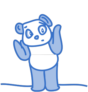 Blue White Cartoon Foot icon png