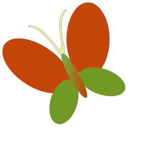 Retro Butterfly icon png