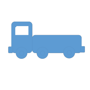 Train Dark Blue icon png