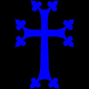 Light Blue Cross icon png