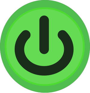 Power-icon-blue icon png