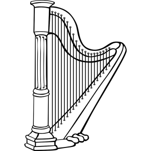Harp icon png