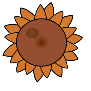 Brown Flower icon png