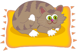 Cartoon Cat icon png