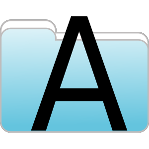 Text Folder Icon icon png