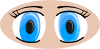 Anime Eyes icon png
