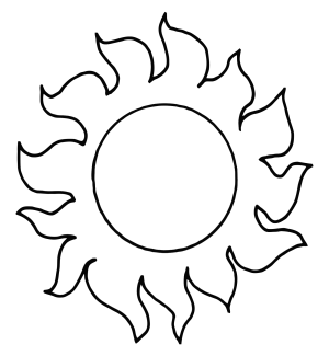 Sun icon png
