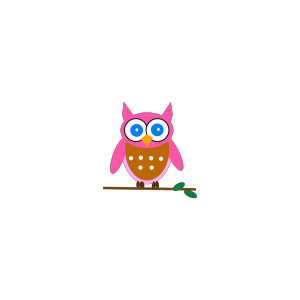 Pink Owl icon png
