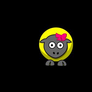Sheep Cartoon icon png