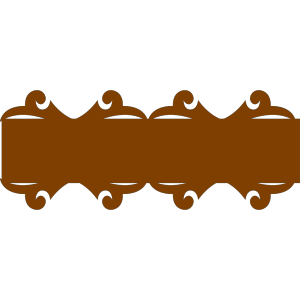 Brown Banner icon png