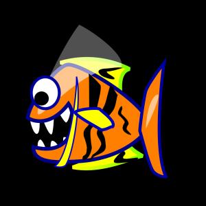 Orange Fish icon png