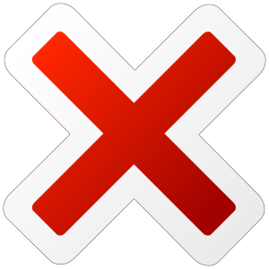 Cancel Icon icon png