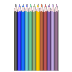Colored Pencils icon png