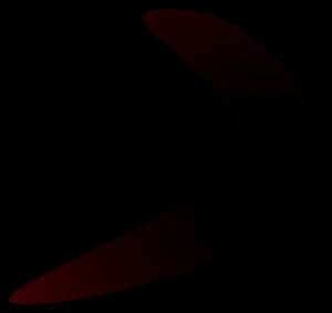 Brown Boomerang icon png