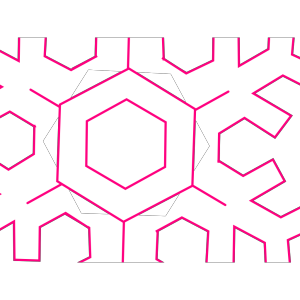 Abstract Lamp And Snowflakes icon png