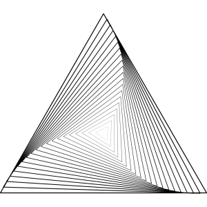 Triangle icon png