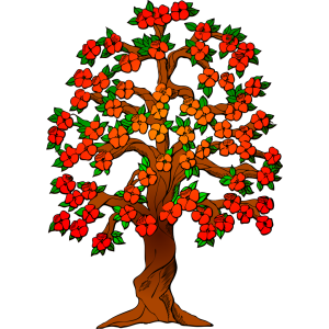 Flowered Tree icon png