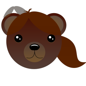 Brown Female Bear icon png